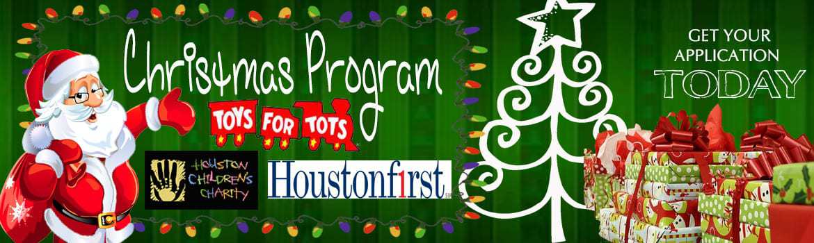 CHRISTMAS PROGRAMS - get your application today