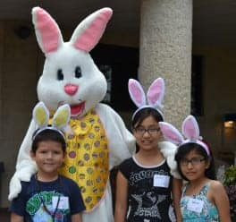 bunny and kids