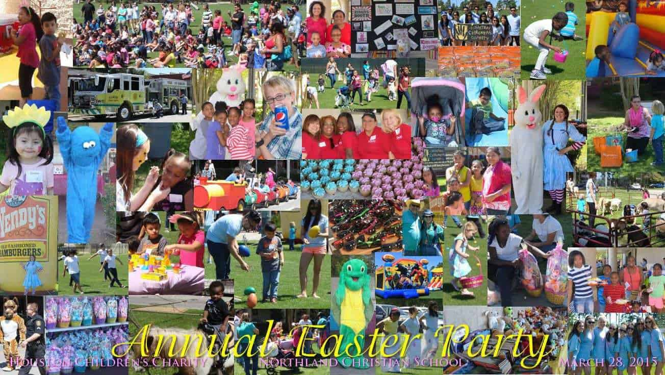 ANNUAL EASTER PARTY 2015