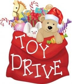 Driving Christmas Presents For Kids