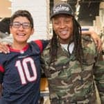 December 20, 2016; HOUSTON, TX -- DeAndre Hopkins 1st Annual Holiday Giveaway