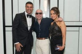 Pitbull performs at the Houston Childrens Charity Gala at The Post Oak hotel.